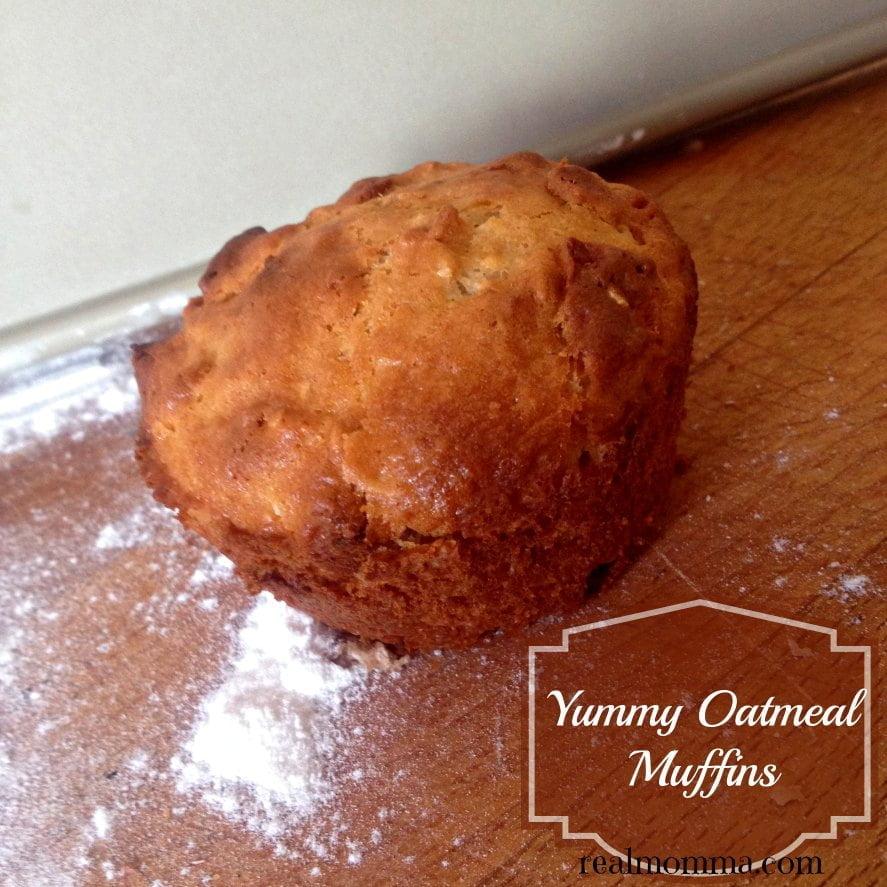 yummy oatmeal muffins