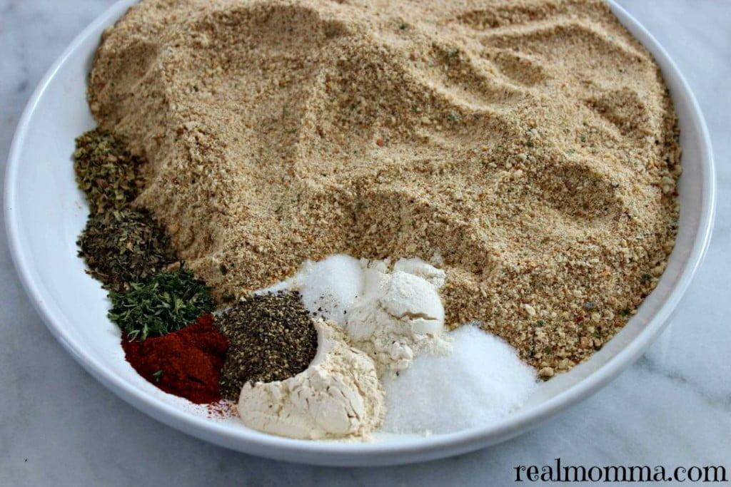 Homemade Shake and Bake ingredients