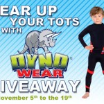 Guest Post – Gear Up Your Tots with Dynowear Giveaway!