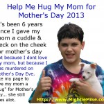 Will You Send This Hug Around The World For Mother's Day 2013 – Guest Post