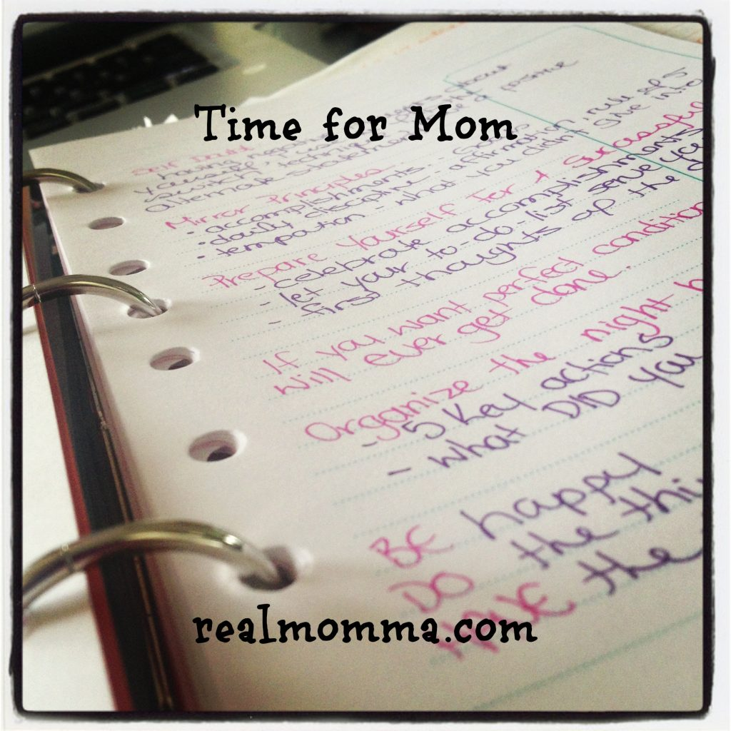 Time for Mom
