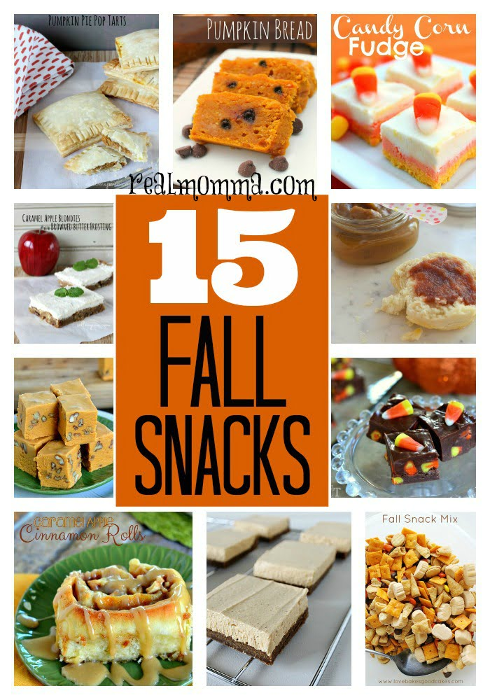 15 Delicious Fall Snacks