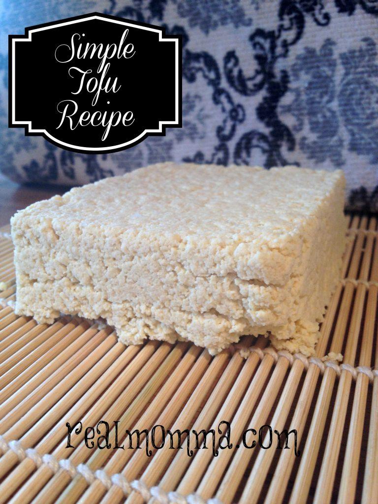 simple tofu recipe