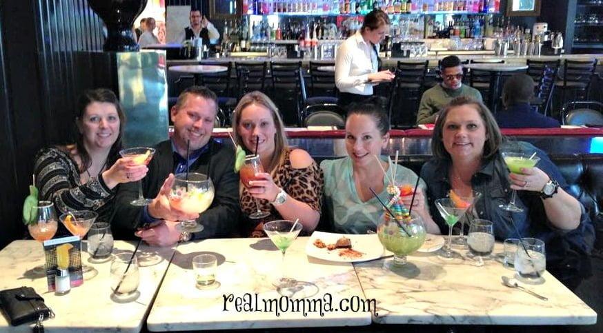 Drinks at Sugar Factory Las Vegas