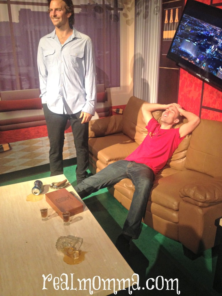 The Hangover at Madame Tussauds