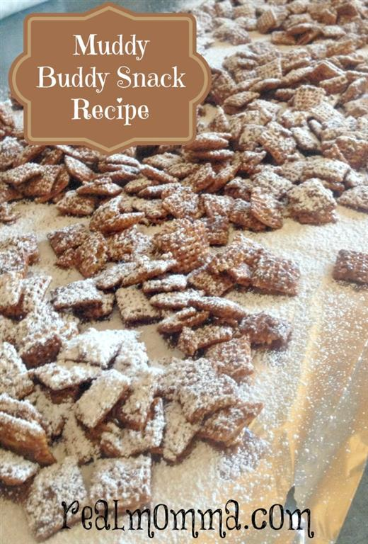 Quick and Easy Muddy Buddies Snack Recipe