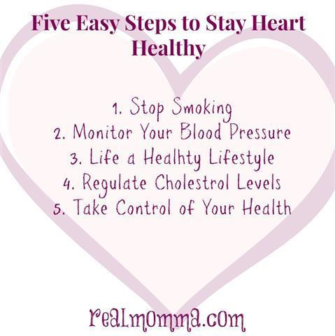 Five Easy Steps to Stay Heart Healthy