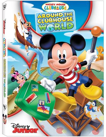 Micky Mouse Club House Around The CH World Box Art