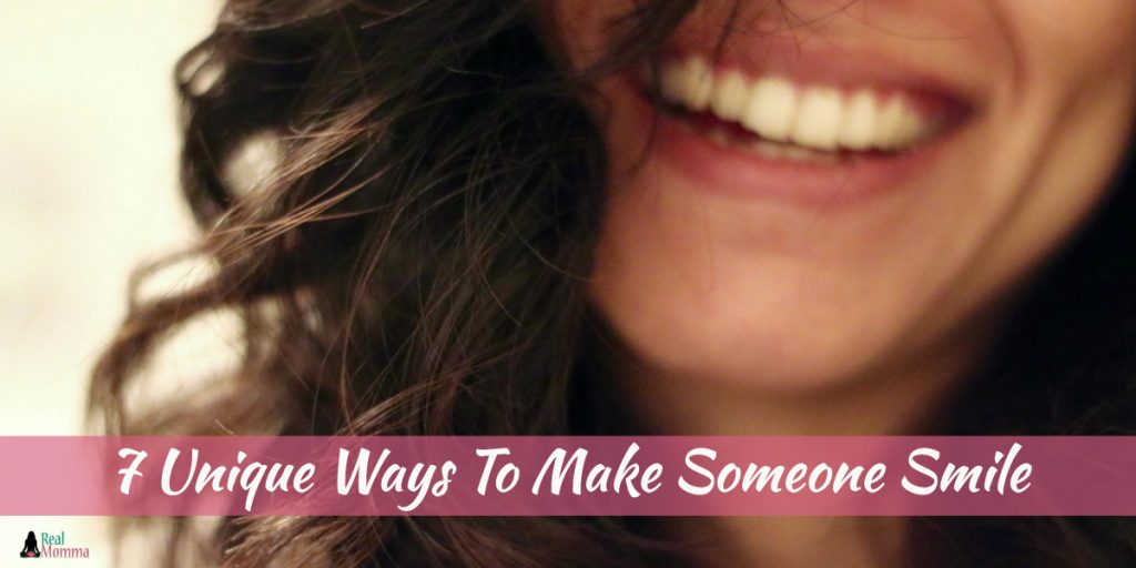 7 Unique Ways To Make Someone Smile