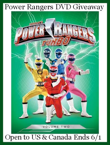 power rangers button