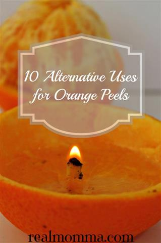 10 Alternative Uses for Orange Peels