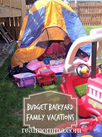 Budget Backyard Family Vacations