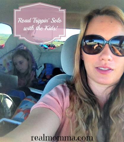Roadtrippin' Solo with the Kids!
