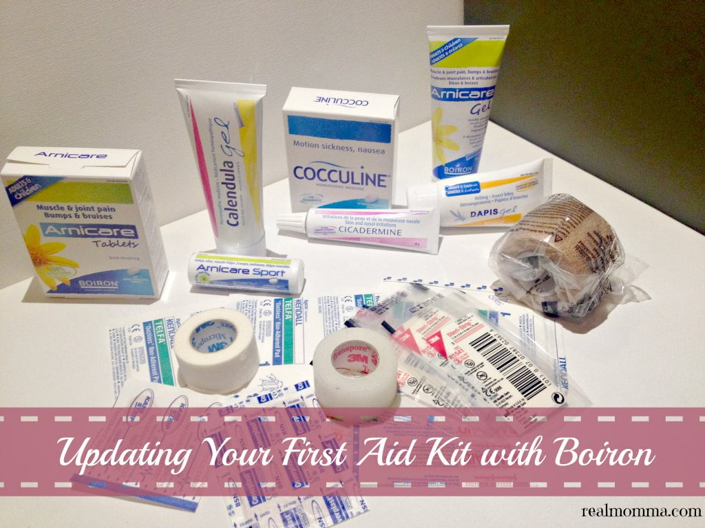 Updating Your First Aid Kit with natural products
