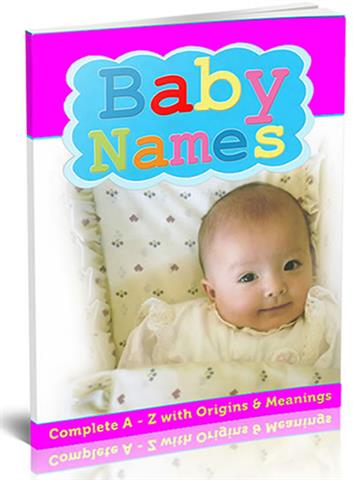 baby name that work! With a look at origins & meanings