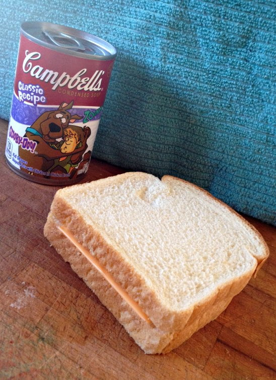 labels for education soup grilled cheese