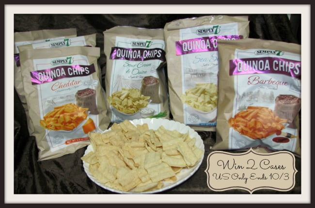 Simply 7 Quinoa chips button