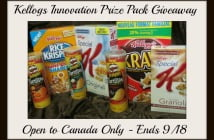 Kellog's Canada Innovation Prize Pack