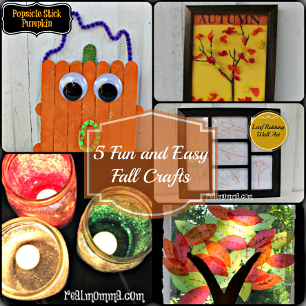 5 Fun and Easy Fall Crafts