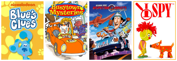 Little Kids Family Movie Mysteries