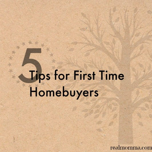5 Important Things To Remember When Buying Your First Home