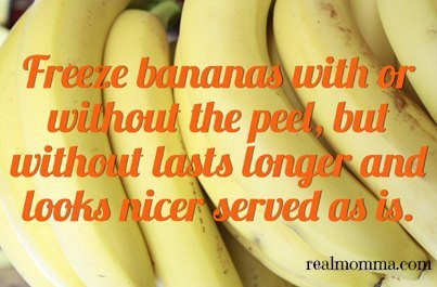 freeze bananas cooking hacks