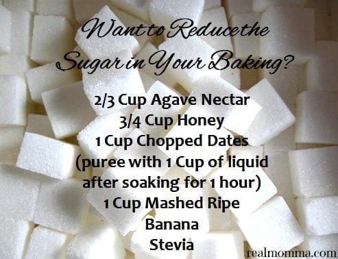 sugar substitution