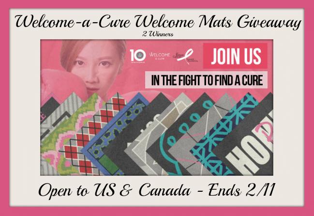 breast cancer awareness mat