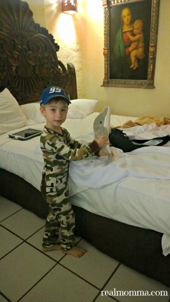 Family time at Playa Los Acros Hotel