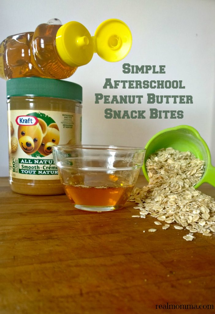 Simple Afterschool Peanut Butter Snack Bites