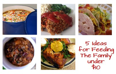 5 Ways to Cook a Whole Meal for Less Than $10