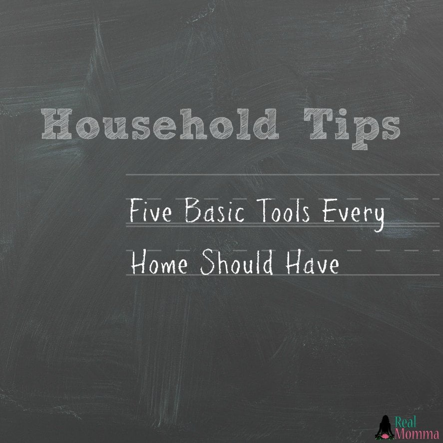 Five Basic Tools Every Home Should Have