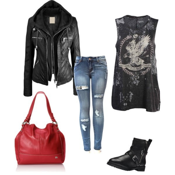 Simple Girls Weekend Outfit