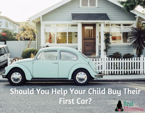 Should You Help Your Child Buy Their First Car