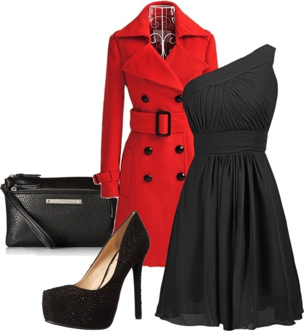 Little Black Dress Holiday Outfit