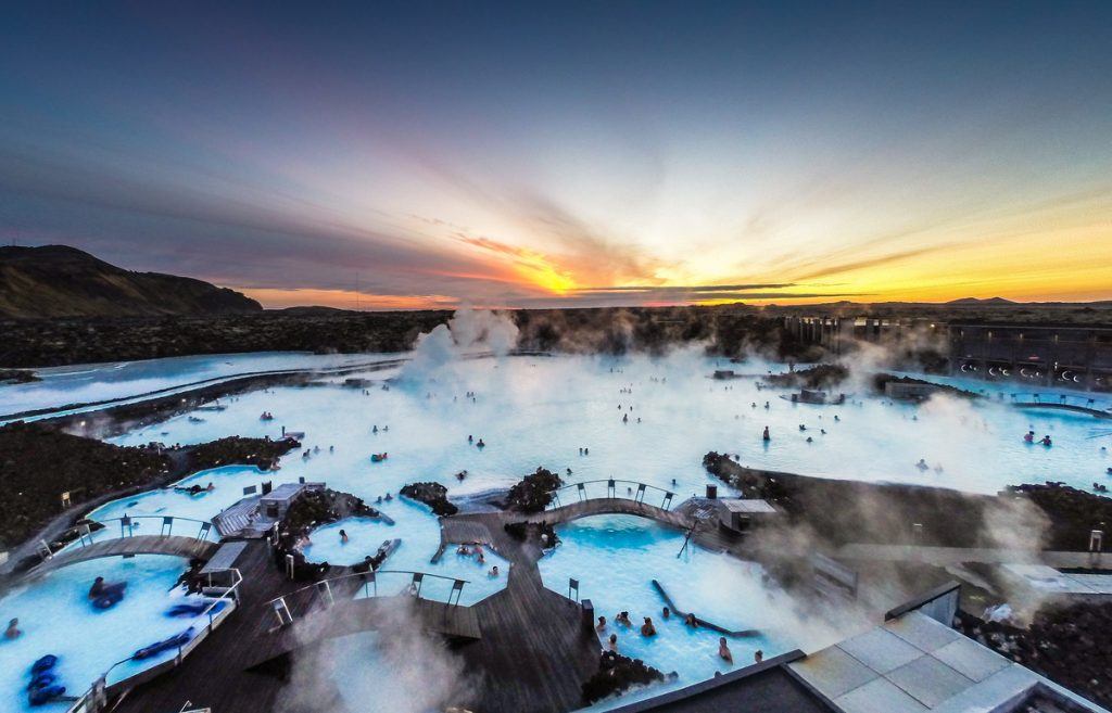 Blue Lagoon Bus Travel in Iceland