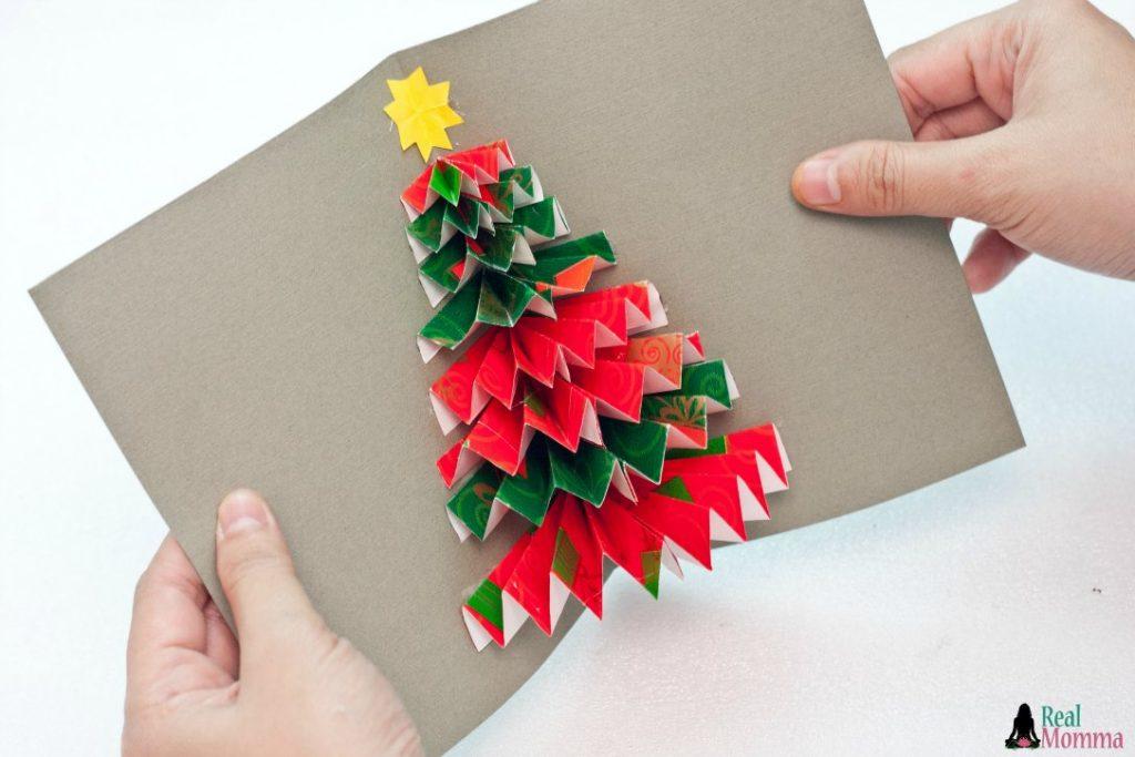 3D xmas tree step 10
