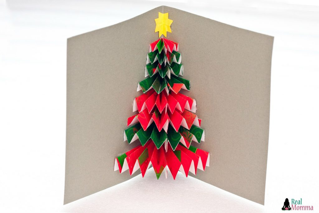 DIY 3D Christmas Tree Card