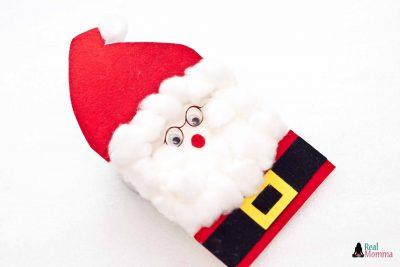 DIY 3D Santa Claus Card