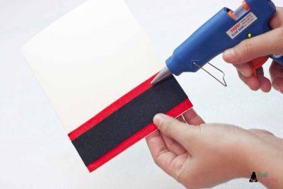 DIY 3D Santa Claus Card step 5