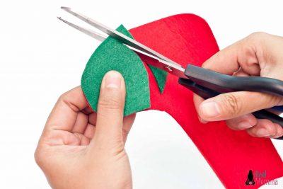 DIY Christmas Stocking for Gift Giving step 9