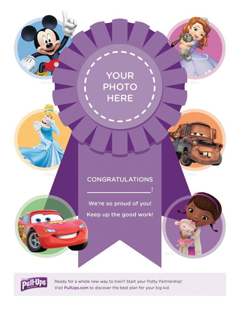 Potty Training Congratulations