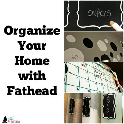Organize Your Home with Fathead