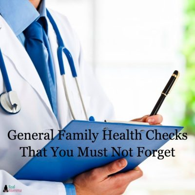 General Family Health Checks That You Must Not Forget
