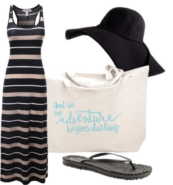 summer out and about outfit