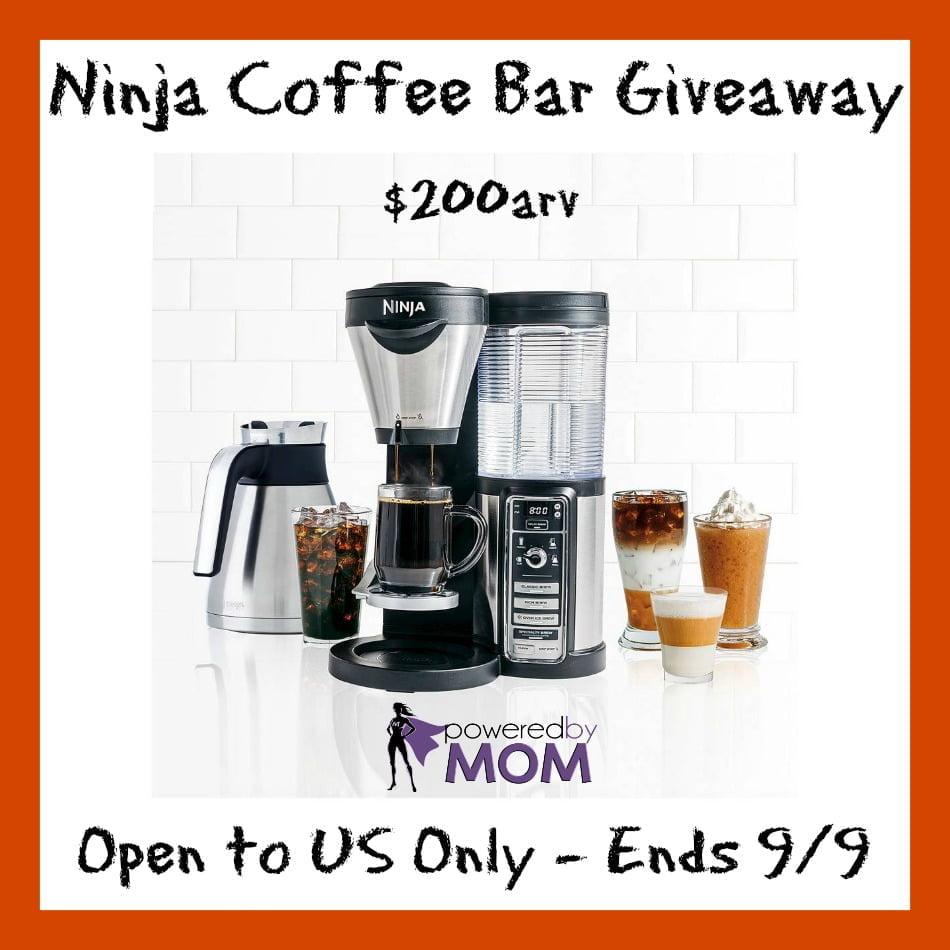 Ninja coffee bar button