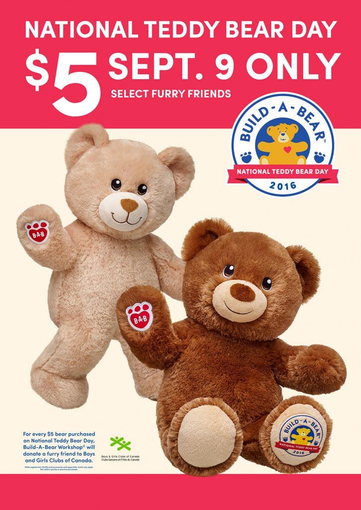 national teddy bear canada deal