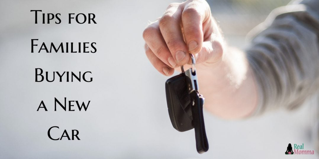 Tips for Families Buying a New Car
