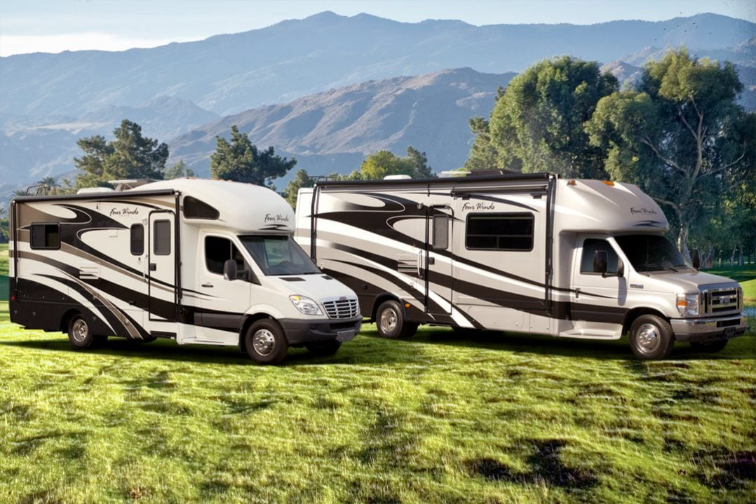 Motorhome RV Class C Sprinter Ford Chassis