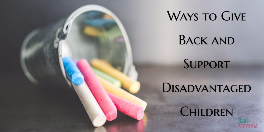 Ways to Give Back and Support Disadvantaged Children